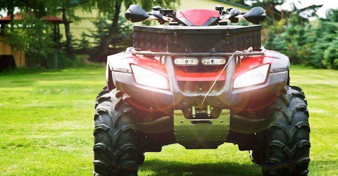 An ATV